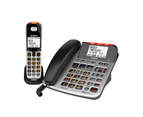 Uniden SSE47+1 Corded/Cordless Phone Extra Loud Visual Hearing Impaired Silver 1