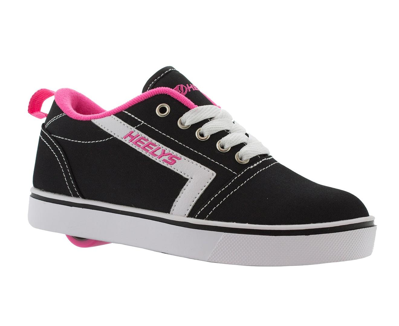 Heelys Girls' GR8 Pro Roller Shoes BlackPink