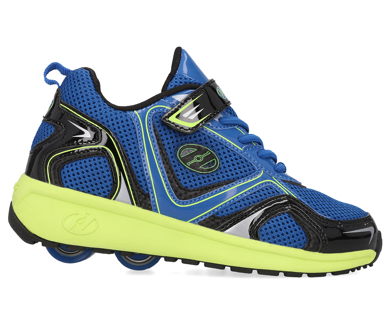 c930506733346 Heelys Kids' Rise X2 Roller Shoe - Blue/Yellow/Black