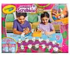 Crayola Scribble Scrubbies Safari Tub Set 3