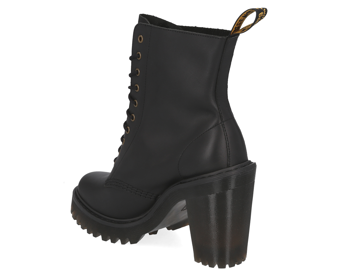 Dr Martens Kendra Black Sendal Heeled Boot R23927001