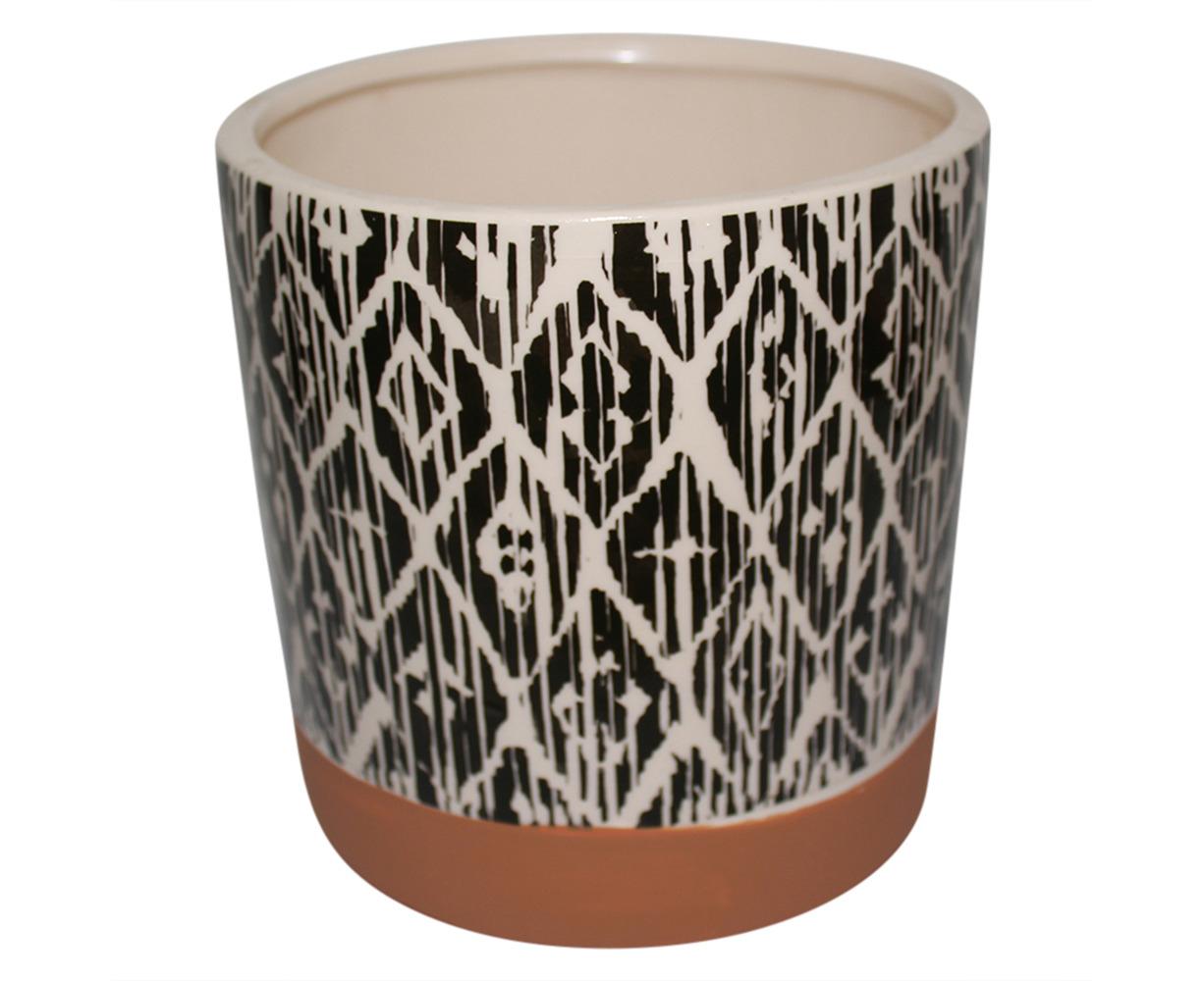 Design C Black And White Modern Ceramic Flower Pot 16