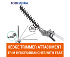 4-STROKE Brush Cutter Pole Chainsaw Hedge Trimmer Saw Whipper Snipper Multi Tool 6