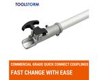 4-STROKE Pole Chainsaw Petrol Pruner Saw Brush Cutter Whipper Snipper Multi Tool 5