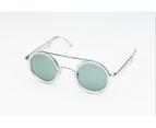 Sydney Crystal Sunglasses - OM Solid Base Green 3