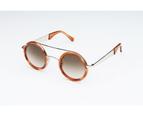 Sydney Vintage Sunglasses - OM Gradient Brown 3
