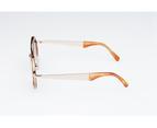 Sydney Vintage Sunglasses - OM Gradient Brown 4