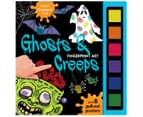 Finger Print Art Ghosts & Creeps Activity Book 1