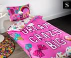 JoJo Siwa Single Bed Quilt Cover Set - Pink 1