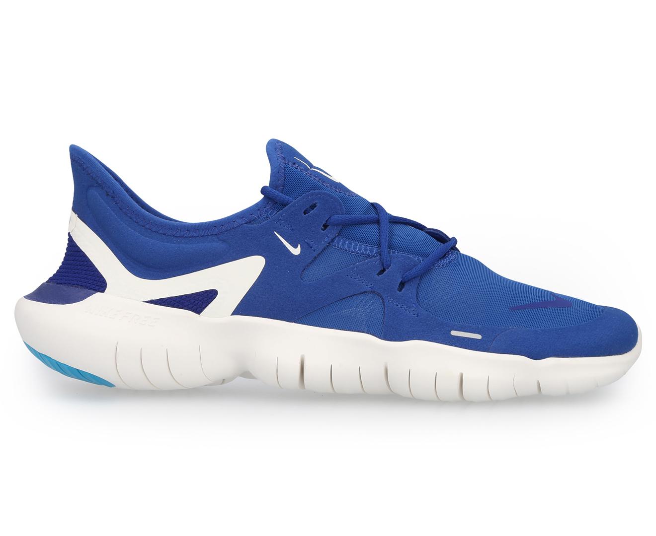 Nike Men's Blue Black Free 5.0 V4 Shoes Complete Range Of