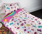 JoJo Siwa Single Bed Quilt Cover Set - Pink 2