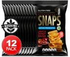 12 x Piranha Snaps Light & Tangy Salsa 25g 1