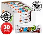 30 x VEGO Hazelnut Chocolate Bar Mini 65g 1