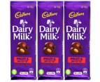 3 x Cadbury Fruit & Nut Chocolate Block 150g 1