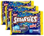 3 x 15pk Nestlé Smarties Mini Boxes 14g 1