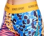 Bonds Women's Micro Full Legging - Animal Mash Up 5
