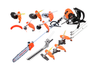 4-STROKE Backpack Pole Chainsaw Hedge Trimmer Saw Brush Cutter Whipper Snipper 1