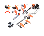 4-STROKE Backpack Chainsaw Hedge Trimmer Grass Edger Brush Cutter WhipperSnipper 1