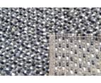 Handwoven Trendy Wool Rug - Jelly Bean - Grey 6