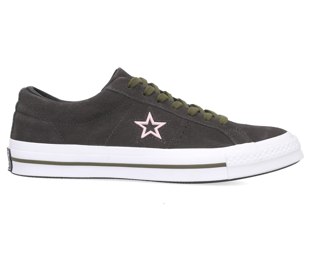 Details about Converse Men's One Star Ox Sneakers Storm WindWhiteBlack