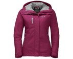 Jack Wolfskin Womens Troposphere Texapore O2+ Waterproof Down Insulated Jacket - amethyst 1