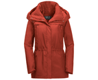 Jack Wolfskin Womens Fairway Texapore Ecosphere Recycled Waterproof Jacket - mexican pepper 1