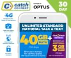 Catch Connect 30 Day Mobile Plan - 40GB 1