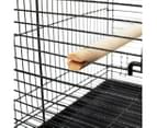 150 cm Bird Budgie Cage with Stand Alone Budgie With Perch 6