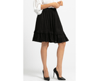 KAJA Clothing MYRA Skirt - Black 100% viscose 3
