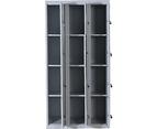 Twelve-Door Office Gym Shed Storage Locker 5