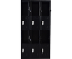 Twelve-Door Office Gym Shed Storage Locker 4