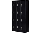 Twelve-Door Office Gym Shed Storage Locker 5