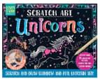 BMS Scratch Art Unicorns Activity Station 1