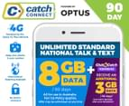 Catch Connect 90 Day Mobile Plan - 8GB 1