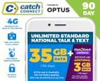 Catch Connect 90 Day Mobile Plan - 35GB 1