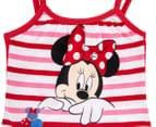 Minnie Mouse Girls' Singlet Top - Red 3