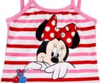 Minnie Mouse Girls' Tank Top - Pink 3