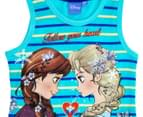 Frozen Girls' Tank - Blue 3