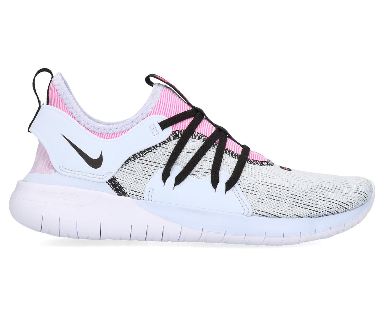 Details about Nike Women's Flex Contact 3 Training Sports Shoes Half BlueBlackHyper Pink