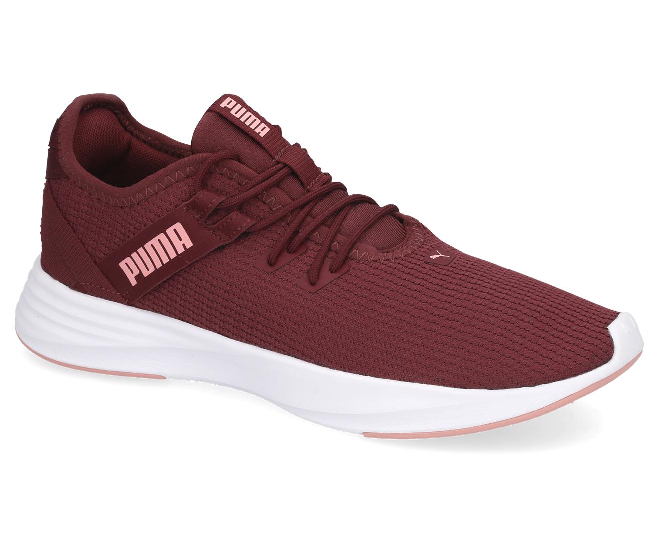 Details about Puma Women's Radiate XT Training Sports Shoes Vineyard WineBridal Rose