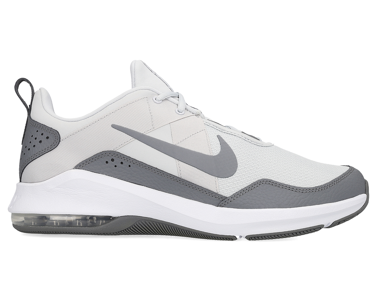 Nike Men's Air Max Alpha Trainer 2 Sports Shoes PlatinumGrey White