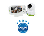 "Uniden BW3451R 4.3"" Digital Wireless Baby Video Monitor Remote 1"