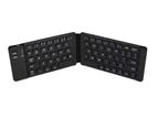 Foldable Bluetooth Keyboard Portable Mini Wireless Keyboard Mobile Tablet Three System Universal Tablet Keyboard 1