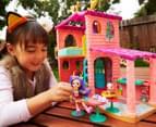 Enchantimals Cosy House Playset w/ Danessa Deer Doll & Sprint Figure 3