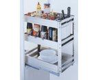 ELITE CHEF Kitchen Pull-Out Cupboard Organiser (for 30cm cupboard) 2