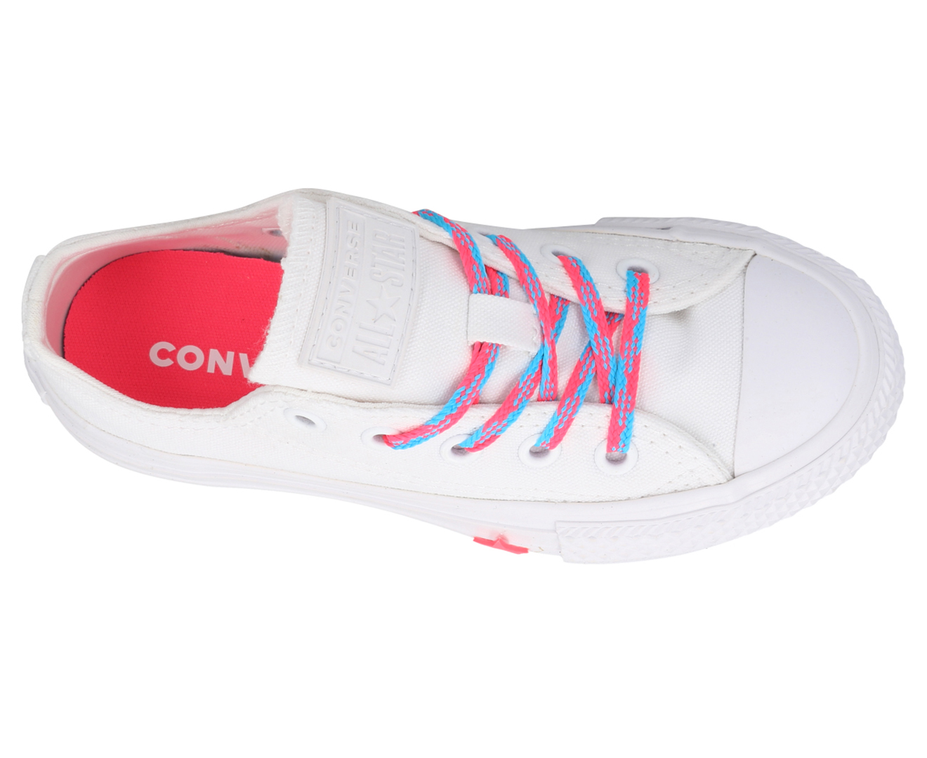 Converse Girls' Chuck Taylor All Star Glow Up Ox Sneakers