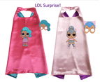 Pack of 2 LOL Surprise Cape and Mask Costume Set 1