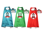 Pack of 3 Thomas and Friends Cape and Mask Costume Set 1