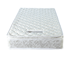 PALERMO Single Luxury Latex Pillow Top Topper Spring Mattress 2