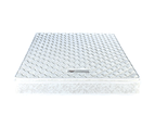 Palermo Queen Luxury Latex Pillow Top Topper Spring Mattress 3